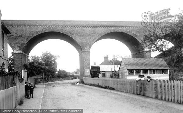 Photo of Bagshot, Viaduct 1901