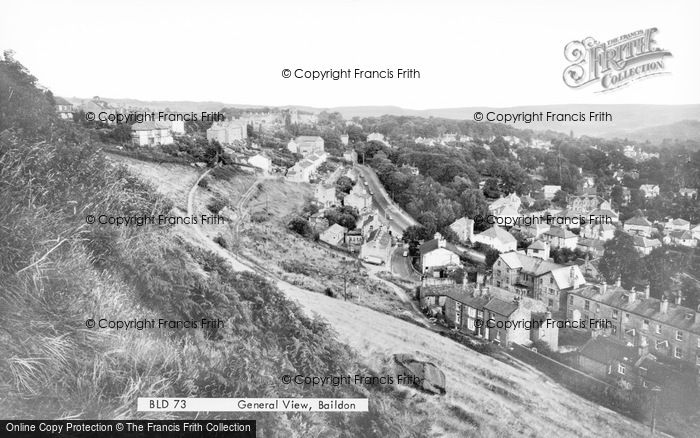 Photo of Baildon, General View c.1965