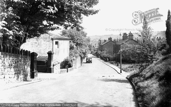 Photo of Baildon, Kirklands Road c.1955