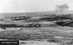 Baildon, Shipley Glen From Dobrudden Farm c.1960