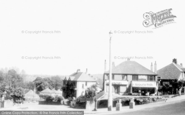 Photo of Baildon, Station Road c.1955