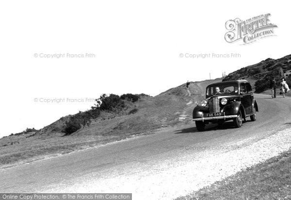 Photo of Baildon, The Moor c.1955