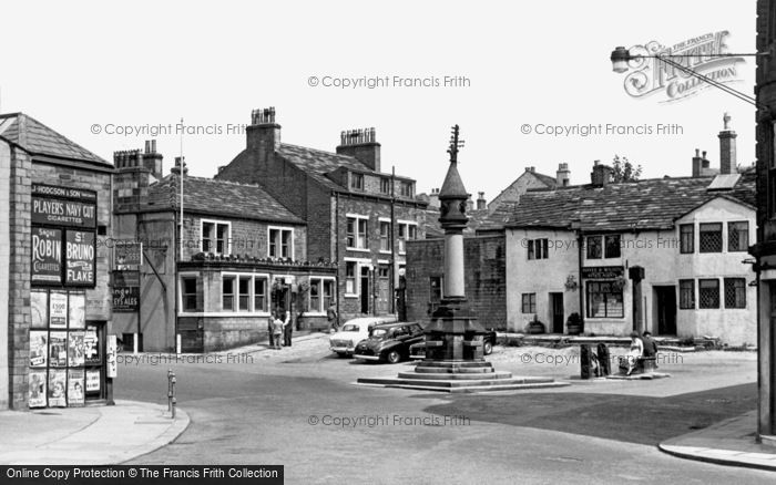 Photo of Baildon, Town Gate 1956
