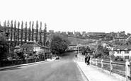 Baildon, view from Baildon Road c1955