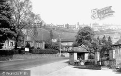 Baildon, War Memorial And Council Offices c.1955