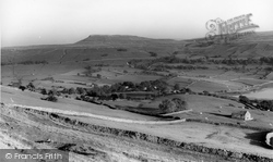 Bainbridge, Addlebrough From Nichol's Rigg c.1960