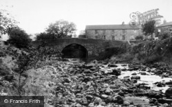 Bainbridge, Bridge From Cravenholme c.1960