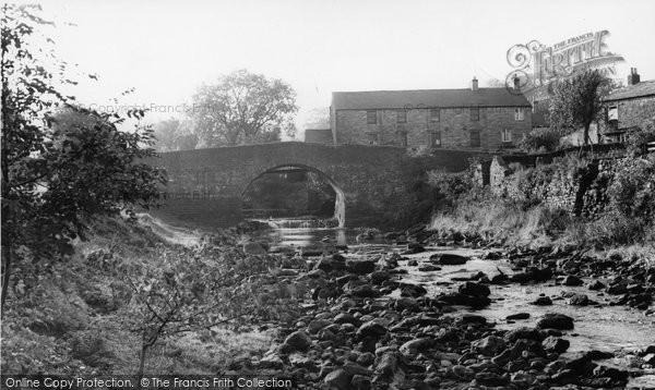 Photo of Bainbridge, Bridge From Cravenholme c.1960
