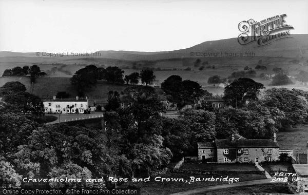 Photo of Bainbridge, Cravenholme And Rose And Crown c.1960