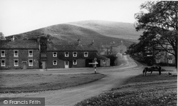 Bainbridge, Cross Roads From The School c.1960