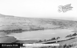 Bainbridge, Lake Semerwater From Staling Busk c.1955