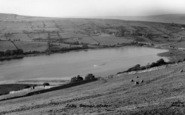 Bainbridge, Lake Semerwater From Stalling Busk c.1955