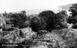 Bainbridge, The River Bain c.1960