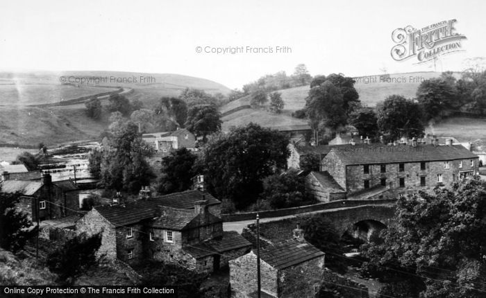 Photo of Bainbridge, Village From Roman Fort c.1960