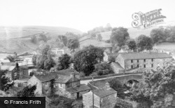 Bainbridge, Village From Roman Fort c.1960