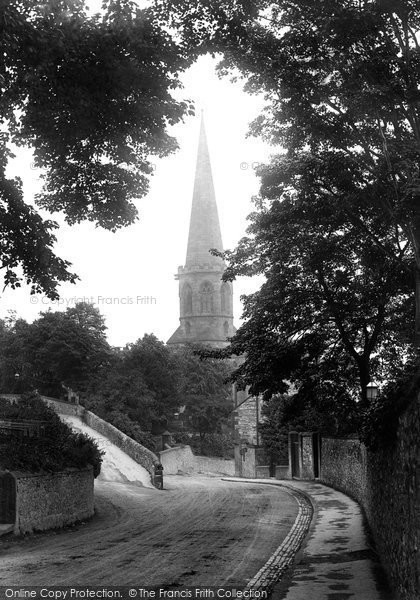 Photo of Bakewell, All Saints Church 1923