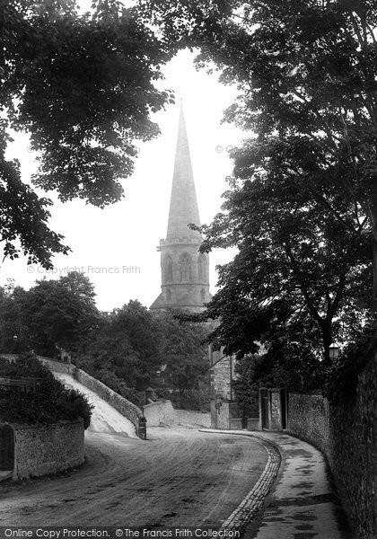 Bakewell, All Saints Church 1923