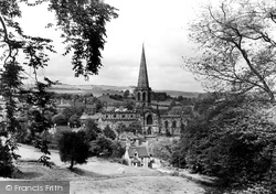 Bakewell, All Saints Church c.1955