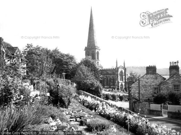 Photo of Bakewell, All Saints Church c.1955