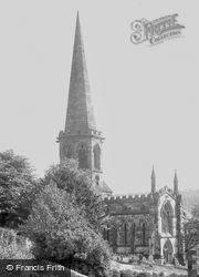 All Saints Church c.1955, Bakewell