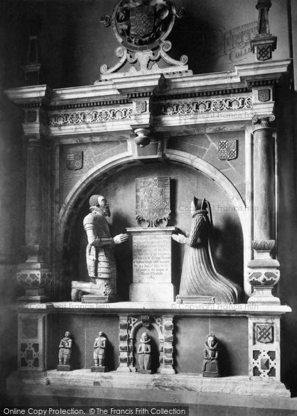Photo of Bakewell, All Saints Church, Dorothy Vernon's Tomb 1890