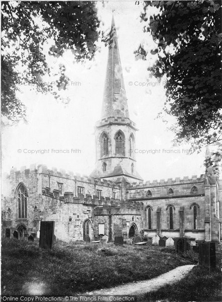 Photo of Bakewell, All Saints Church, South West 1890