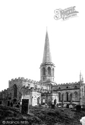 Bakewell, All Saints Church, South West 1890