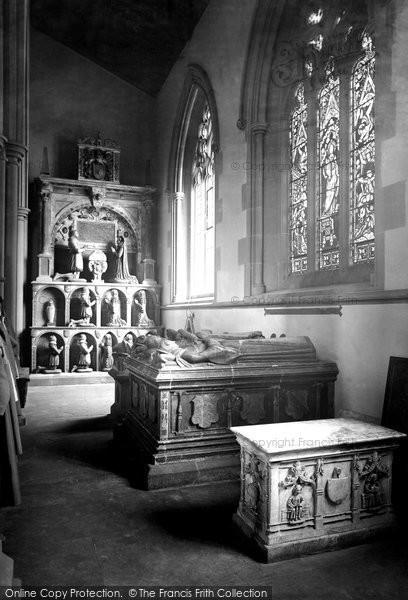 Bakewell, All Saints Church, The Vernon Chapel 1890