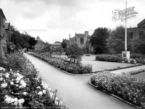 Photo of Bakewell, Bath Gardens c.1955
