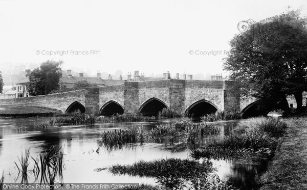 Photo of Bakewell, Bridge 1894