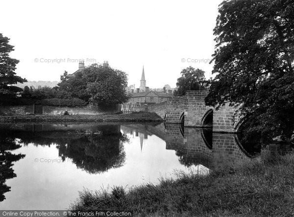 Photo of Bakewell, Bridge 1923