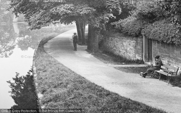 Photo of Bakewell, By The River 1923