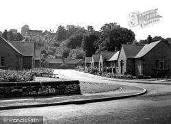 Bakewell, Dagnall Close Gardens c.1955