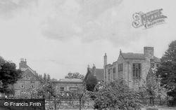 From Bath Gardens c.1955, Bakewell