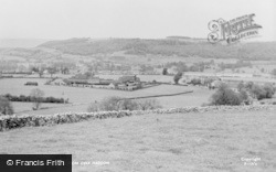 Bakewell, From Over Haddon c.1955