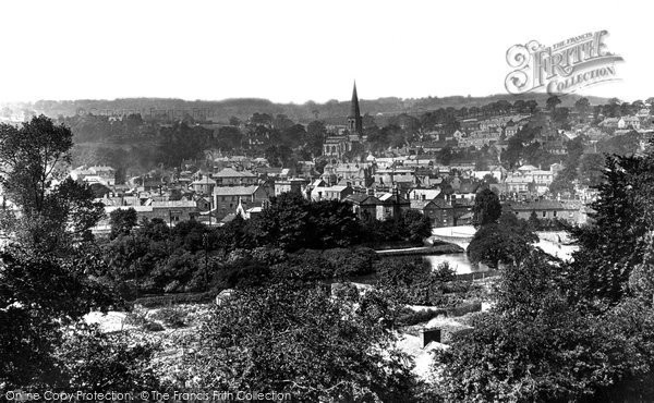 Photo of Bakewell, From Station Road 1914
