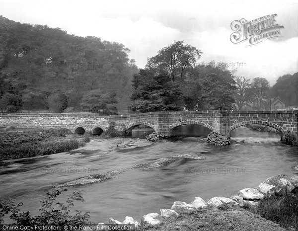 Bakewell, Old Pack Horse Bridge 1923
