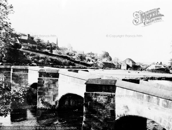 Photo of Bakewell, Packhorse Bridge c.1955