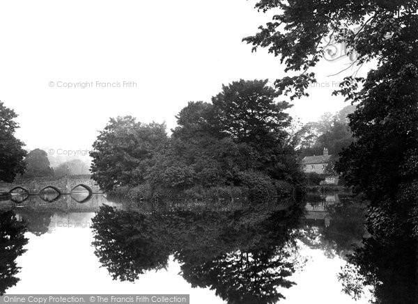 Photo of Bakewell, River Wye 1923