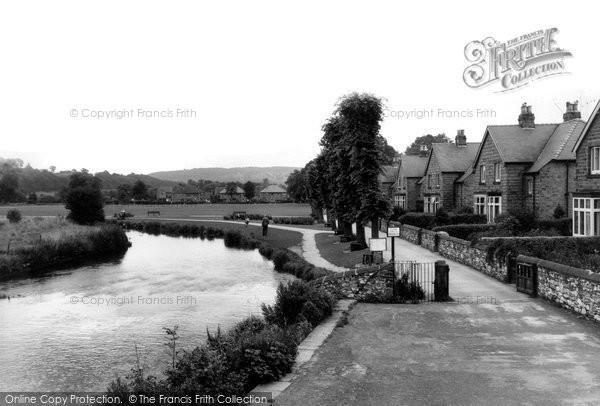 Bakewell, River Wye c.1955