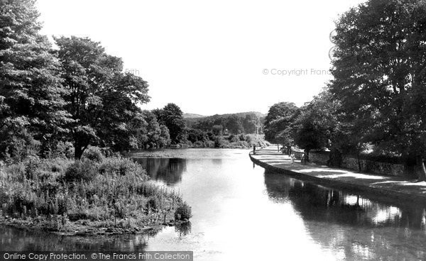 Bakewell, Riverside Walk And River Wye c.1955