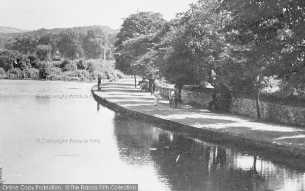 Photo of Bakewell, Riverside Walk c.1955