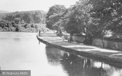 Bakewell, Riverside Walk c.1955