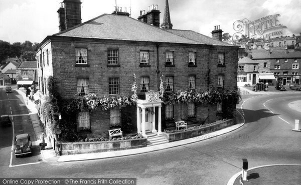 Photo of Bakewell, Rutland Arms Hotel c.1955