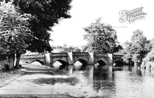 Photo of Bakewell, The Bridge c.1955