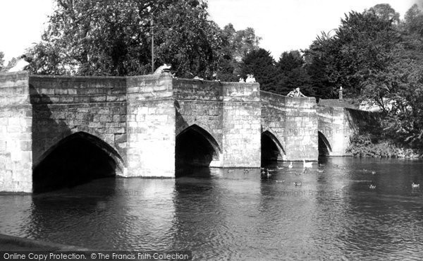 Photo of Bakewell, The Bridge c.1955