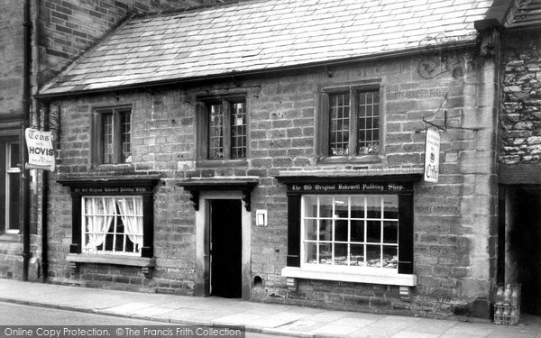 Photo of Bakewell, The Old Original Bakewell Pudding Shop c.1965