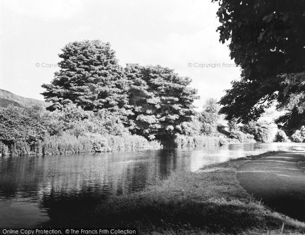 Photo of Bakewell, The River Wye c.1955
