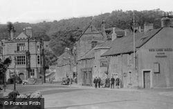 The Square c.1935, Bakewell