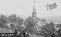 View From Yeld Road 1894, Bakewell